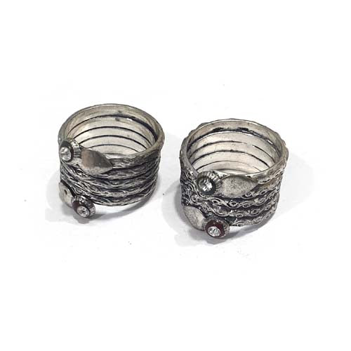 Fashion Rings Jewellry Oxidized Sold Per Piece Pack