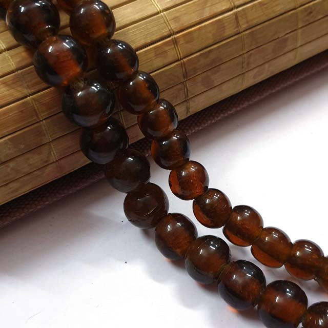 13mm Size 35 Beads Plain Large Size Vintage Glass Beads, Hole Size about 3~5mm Unbeatable Discounted Price offered Made Ethnic and Fancy Necklace, No Exchange or Refund Due to Sale Item