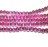 6mm Round Glass Beads, Sold Per Strand/16""
