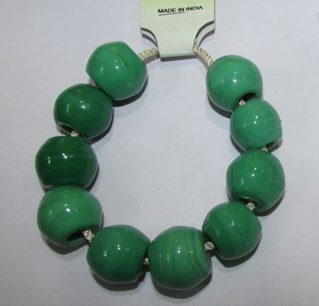 19X16mm, Large Hole and Large Size Trade Glass Beads, Make Jewellery something different