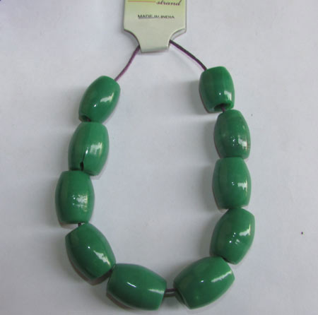 19X15mm, Large Hole and Large Size Trade Glass Beads, Make Jewellery something different