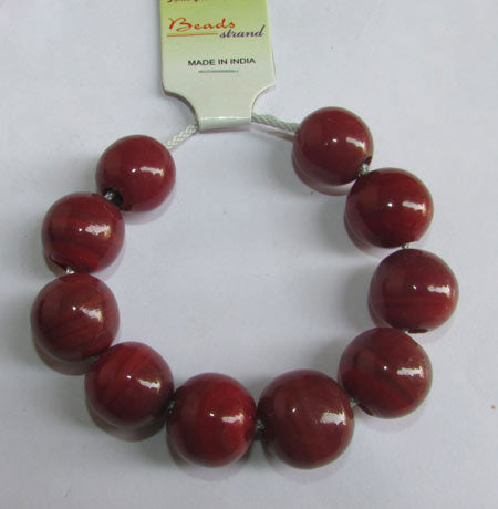 19x18mm, Large Hole and Large Size Trade Glass Beads, Make Jewellery something different