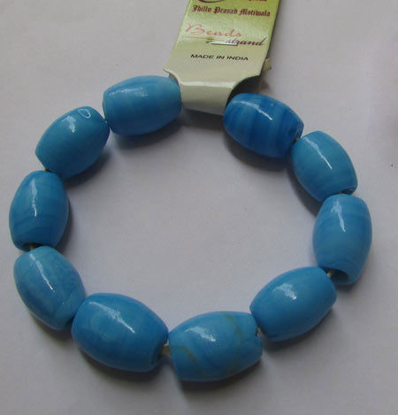 20x14mm, Large Hole and Large Size Trade Glass Beads, Make Jewellery something different