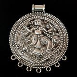 58x70 mm Temple (Durga and Kali Pendants)Pendants at unbeatable price sold by per piece pack (60% off)