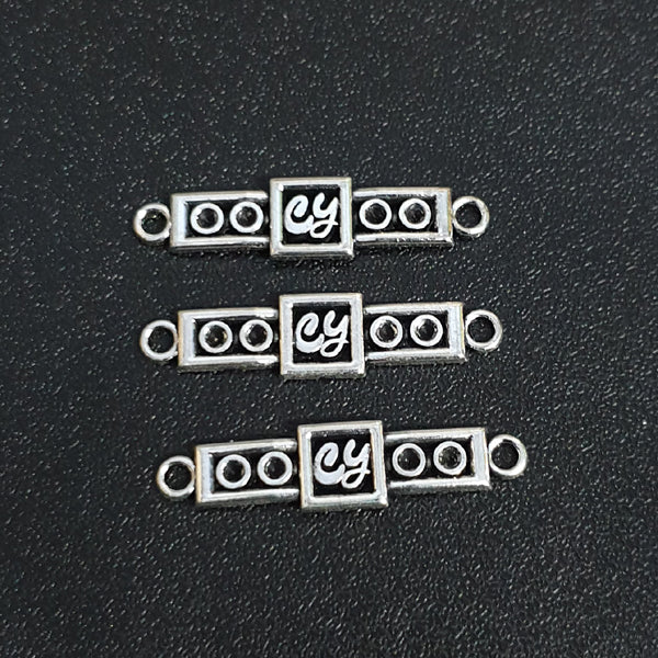 10 Pcs Pack in approx 9x37mm Size Channel Bead Link Connecotrs Charms , Also Available by Kilo Rs. 950.00 Subject to quantity