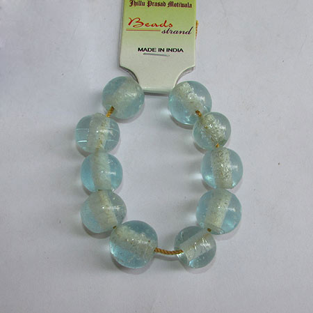 14x13mm, Large Hole and Large Size Trade Glass Beads, Make Jewellery something different