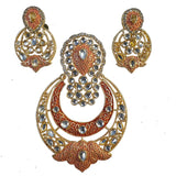 Large Size Kundan Pendant Set high quality Sold Per Set
