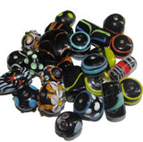 Super fancy Black decorative lampwork mixed beads, sold by Per Pkg. 250 Gram