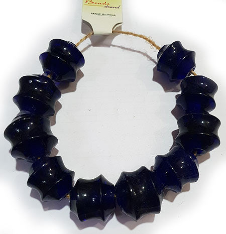 24X22mm, Large Hole and Large Size Trade Glass Beads, Make Jewellery something different