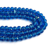 "About 9mm Size Creeper designs Handmade Lampwork Glass Beads Sold Per Strand of 16"" Line Approx 48~53 Beads"