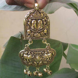 70x48mm Temple Pendant, Sold per Piece.