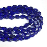 Blue Glass Beads Handmade