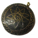 Ethnic Tribal Nepali-Tibatan handmade India made jaipuri Pendants , Sold by Per Piece , Size 50mm