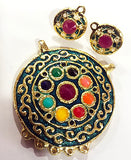 Navratan Pendant sold by per Set