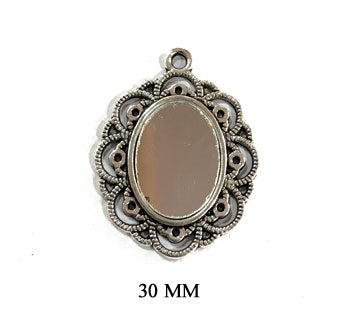 Mirror work Pendant Sold by per piece pack
