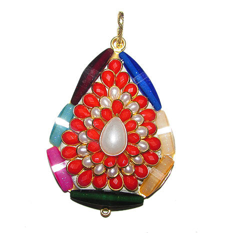 Pacchi Pendants Set, do it your self, Maching gemstone beads available in stock for making jewellery