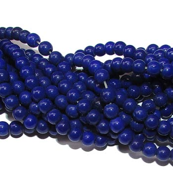 Beads, Czeck Glass, Size 5mm, Sold By Per Strands 16 Inch
