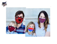 Load image into Gallery viewer, Tae Bo® Energy Adult and Child Masks