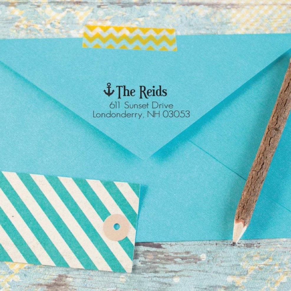 Anchor Return Address Stamp