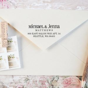 Personalized Return Address Stamp