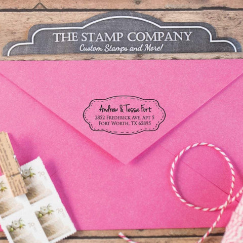 Swoop Frame Return Address Stamp
