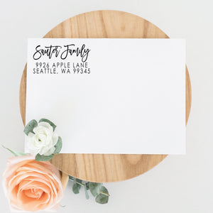 Stunning Return Address Stamp