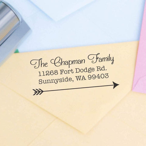 Right Arrow Return Address Stamp