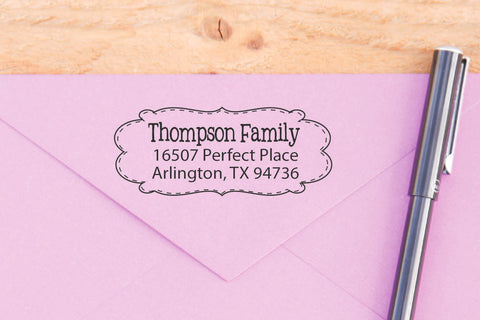 Fun Original Return Address Stamp