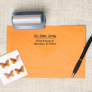 Unique Style Return Address Stamp