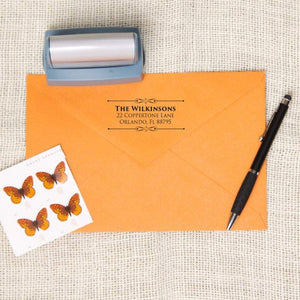 Custom Decorative Return Address Stamp