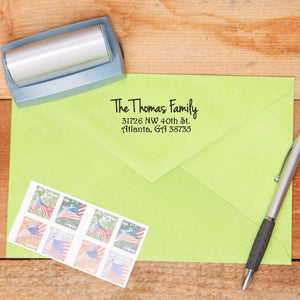 Custom Simplistic Return Address Stamp