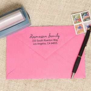 Simple Script Return Address Stamp