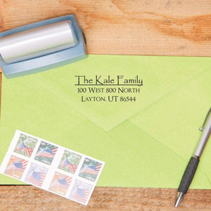 Papyrus Return Address Stamp