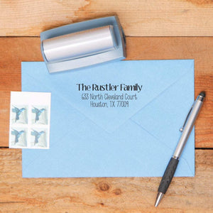 Country Return Address Stamp