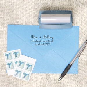 Simple Return Address Stamp