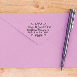 Decorative Return Address Stamp