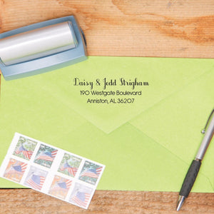 Jot Return Address Stamp