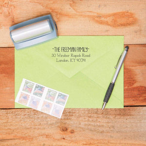 Fun Return Address Stamp