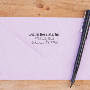 All Custom Return Address Stamp
