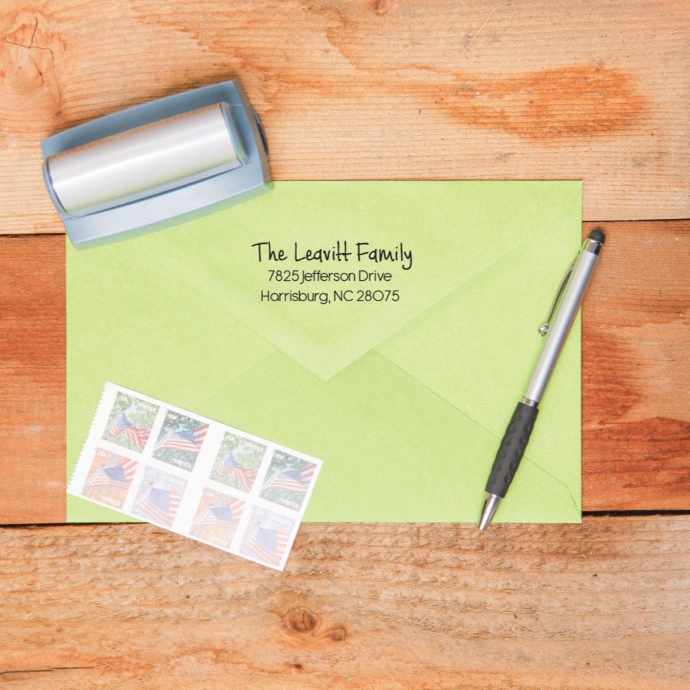 Simple Favorite Return Address Stamp