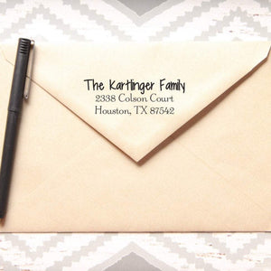 Simple Custom Return Address Stamp