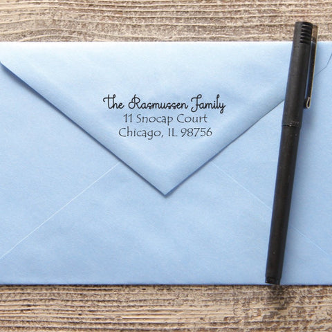 Charismatic Return Address Stamp