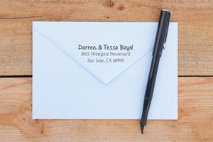 Simple Charm Return Address Stamp