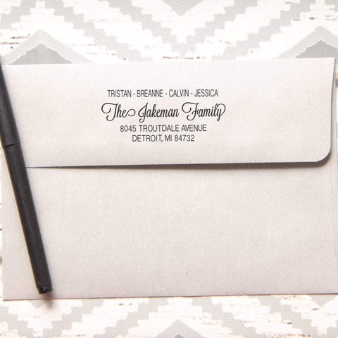 Inclusive Return Address Stamp