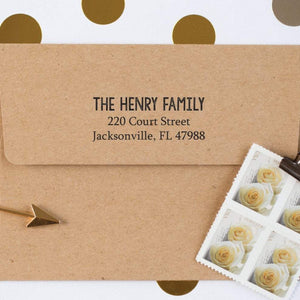 Custom Favorite Return Address Stamp