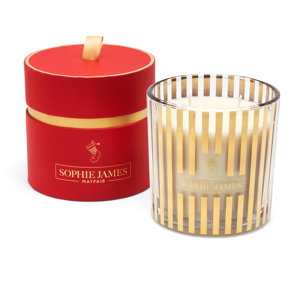 The Christmas Stocking - Deluxe Candle