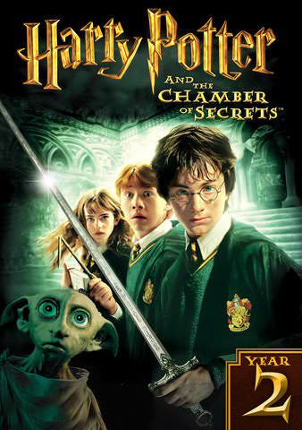 Harry Potter and the Chamber of Secrets [VUDU - HD or iTunes - HD via MA]