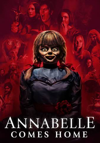 Annabelle Comes Home [VUDU - HD or iTunes - HD via MA]