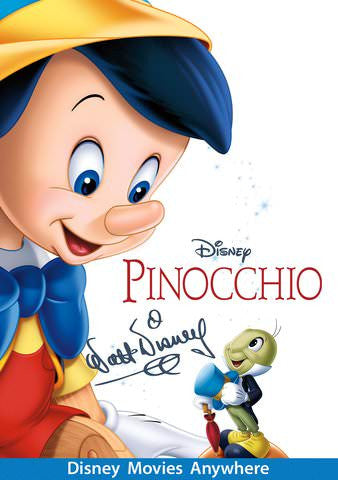 Pinocchio [VUDU, iTunes, OR Disney - HD]