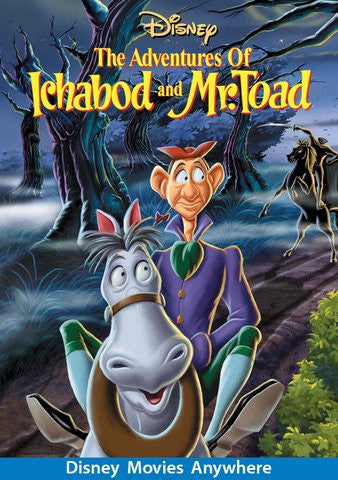 The Adventures of Ichabod and Mr. Toad [VUDU, iTunes, or Disney - HD]